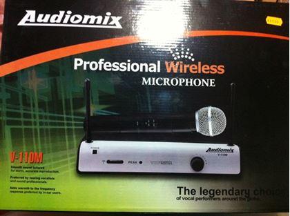 Imagens de Microfone Sem Fios Audiomix V-110M
