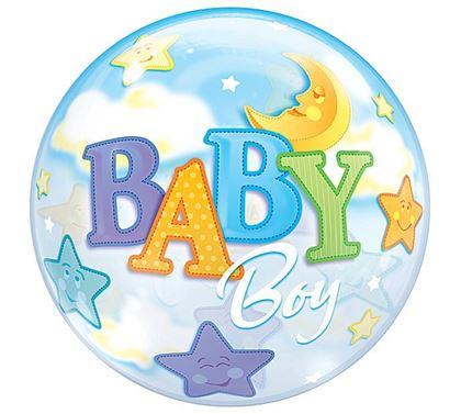 Imagens de BALÃO BUBBLE BABY BOY