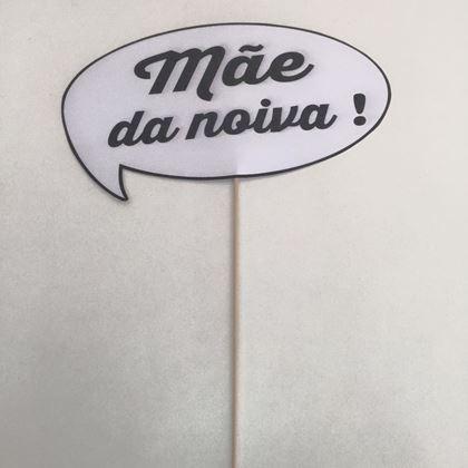 """Imagens de PLACA """"MÃE DA NOIVA"""""""