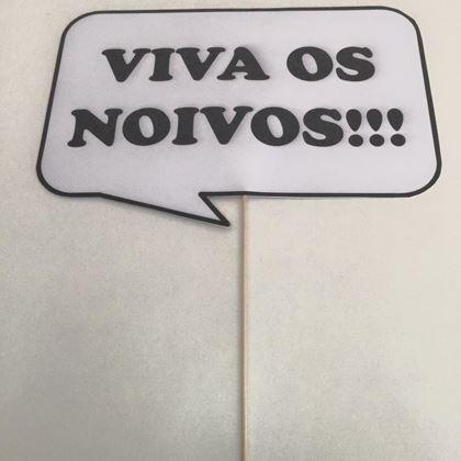 """Imagens de PLACA """"VIVA OS NOIVOS"""""""