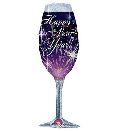 """Imagens de BALÃO FOIL """"HAPPY NEW YEAR"""""""