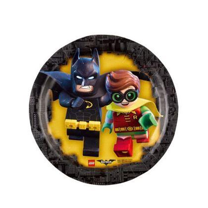 Imagens de PRATOS LEGO BATMAN 18CM