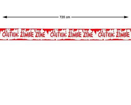 Imagens de FITA ZOMBIE ZONE 720X5.5CM