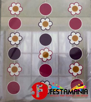 Imagens de GRINALDA DE FLORES 3 PEÇAS