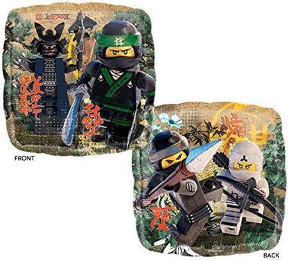 Imagens de BALÃO FOIL STANDART LEGO NINJAGO