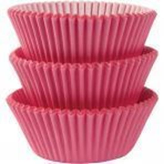 Picture of 100 MINI FORMINHAS CUPCAKE 30MM - ROSA CLARO