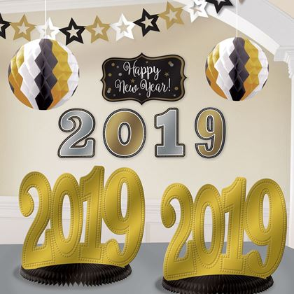 Imagens de KIT DECORACAO 2019 HAPPY NEW YEAR
