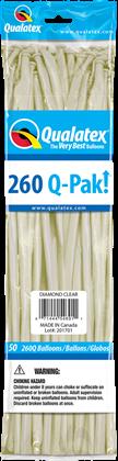 Imagens de 260 Q-PACK DIAMOND CLEAR 50UN