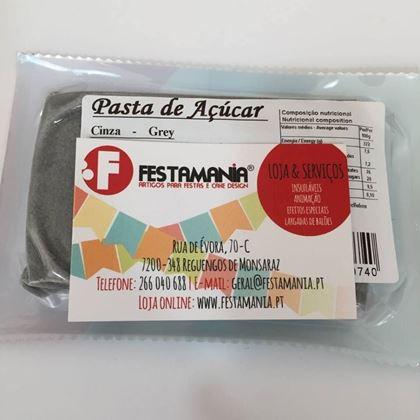 Imagens de PASTA DE AÇÚCAR CINZA 250GR