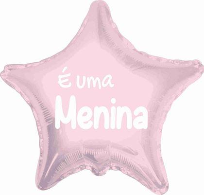 """Imagens de BALAO FOIL 18"""" É UMA MENINA"""