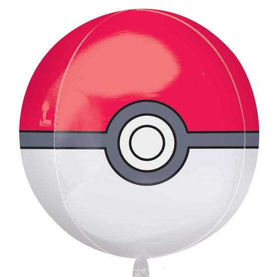 Picture of BALÃO FOIL ORBZ POKE BALL