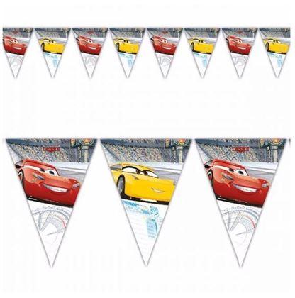 Imagens de BANDEIRINHA TRIANGULAR CARS 3