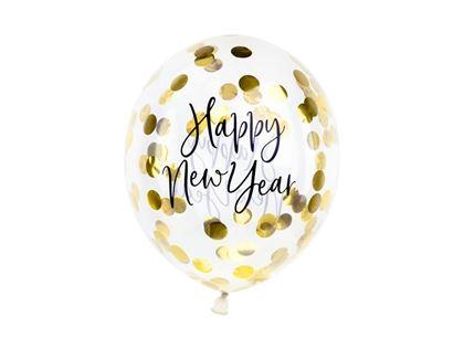 Imagens de BALÕES COM CONFETTIS HAPPY NEW YEAR