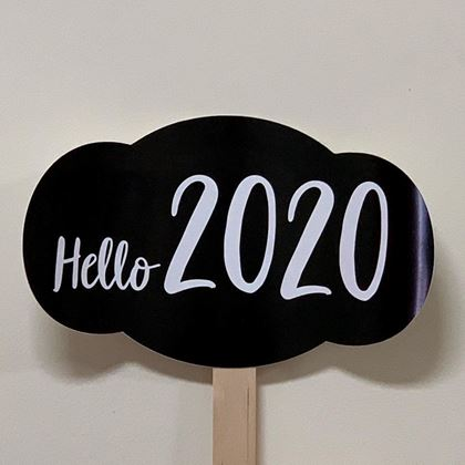 "Imagens de PLACA ""HELLO 2020"""