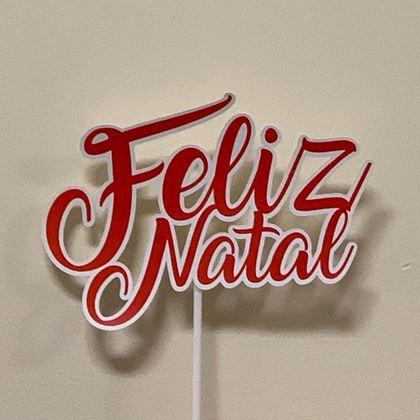 Imagens de TOPPER FELIZ NATAL