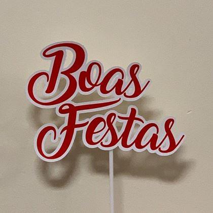 Imagens de TOPPER BOAS FESTAS
