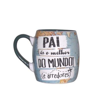 """Imagens de CANECA BARRIL """"MUNDO"""" PAI"""