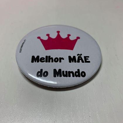 Imagens de CRACHÁ COM ALFINETE MELHOR MÃE DO MUNDO