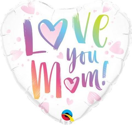 """Imagens de BALÃO FOIL 18"""" LOVE YOU MOM"""