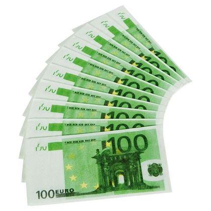 Imagens de GUARDANAPOS 100 EUROS