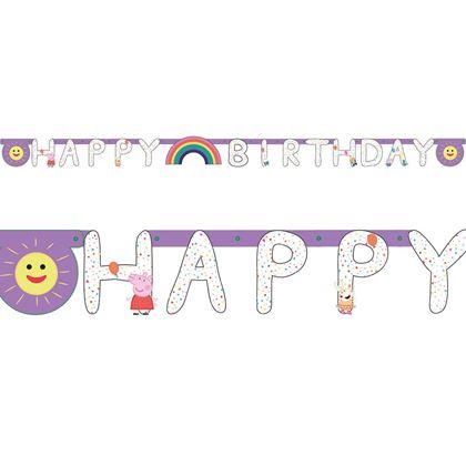 Imagens de BANNER HAPPY BIRTHDAY PEPPA PIG
