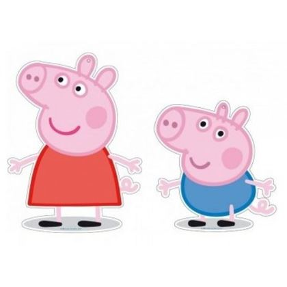 Imagens de 2 MINI FIGURAS PEPPA PIG