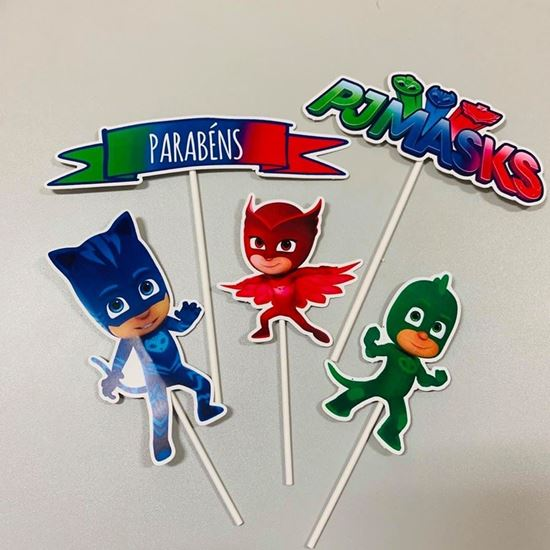 Picture of KIT TOPPERS PJ MASKS