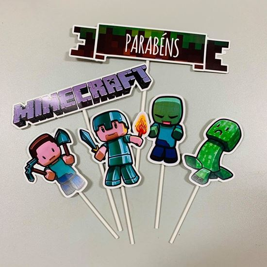 Picture of KIT TOPPERS MINECRAFT