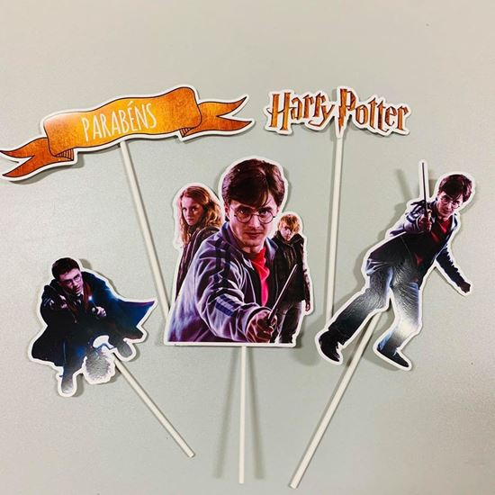 Picture of KIT TOPPERS HARRY POTTER