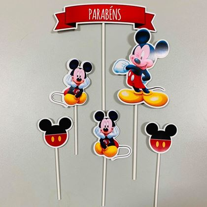 Imagens de KIT TOPPERS MICKEY
