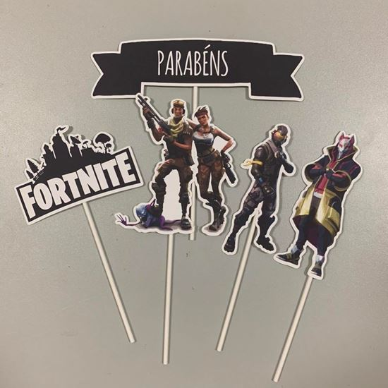 Picture of KIT TOPPERS FORTNITE