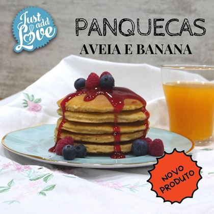 Imagens de PANQUECAS AVEIA E BANANA 500GR