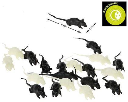 Imagens de 12 RATOS BRILHA NO ESCURO