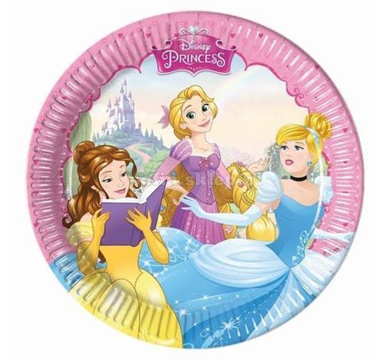 Picture of PRATOS 20CM PRINCESAS DREAMING