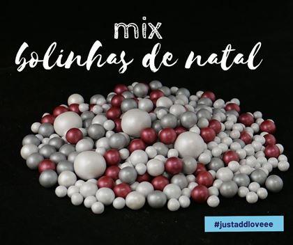 Imagens de MIX BOLINHAS DE NATAL 150GR