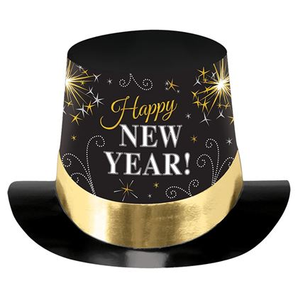 Imagens de CARTOLA HAPPY NEW YEAR OURO E PRETO