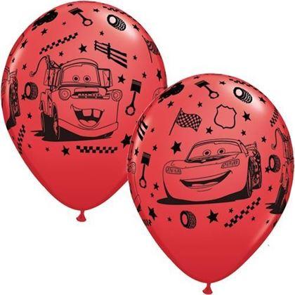 Imagens de 6 BALÕES LATEX CARS