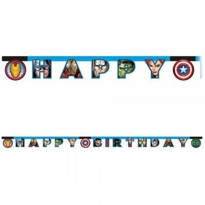 Imagens de BANNER HAPPY BIRTHDAY AVENGERS