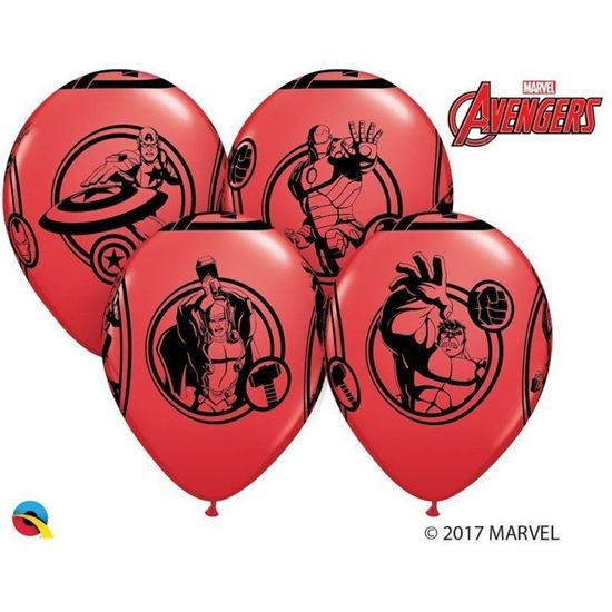 Picture of 6 BALÕES LATEX AVENGERS
