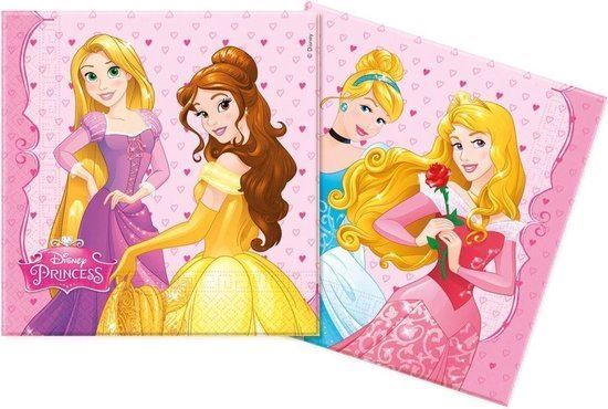 Picture of GUARDANAPOS PRINCESAS DREAMING