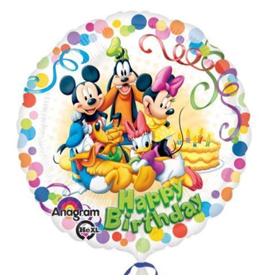 Picture of BALÃO FOIL STANDART MICKEY & FRIENDS PARTY