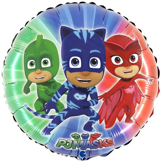 "Picture of BALÃO FOIL 18"" PJ MASK"