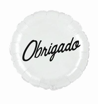"""Imagens de BALÃO FOIL 18"""" OBRIGADO"""