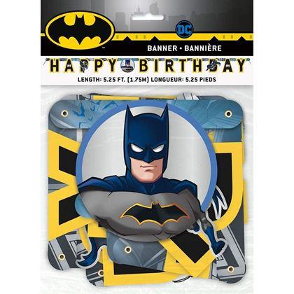 Imagens de BANNER RECORTADO HAPPY BIRTHDAY BATMAN