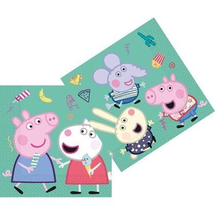 Imagens de 20 GUARDANAPOS PEPPA PIG