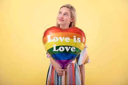Imagens de BALÃO FOIL LOVE IS LOVE