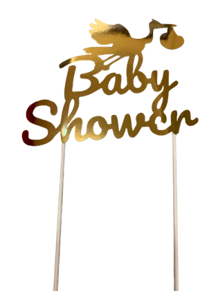 Imagens de TOPPER BABY SHOWER OURO