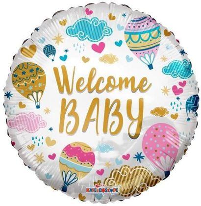 """Imagens de BALÃO FOIL 18"""" WELCOME BABY"""