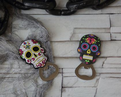 Imagens de ABRE LATAS CAVEIRA MEXICANA